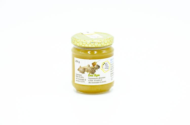 Crema di Miele allo Zenzero - Bee-Fruits