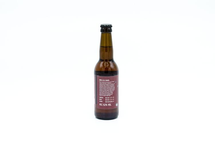 Birra Hempy Ambrata - Le Vie della Canapa